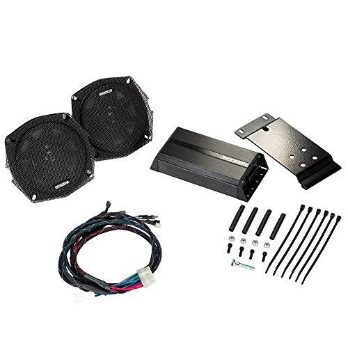 KICKER 46HDT96 Rear Speaker Kit for Select 1996-2013 Harley-Davidson Motorcycles with Rear Speaker Pods