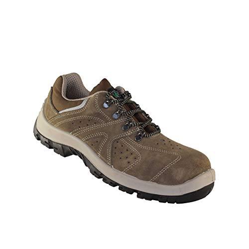 Artelli Perfo Plus S1P SRC professionele schoenen zakelijke schoenen Beige plat