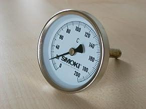 Smoki-Räuchertechnik - Termómetro para ahumador, 0-200°C