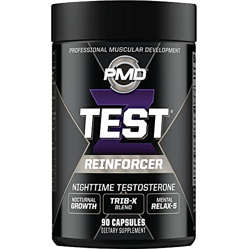 PMD Sports Z-Test Nighttime Testosterone Support - Sleep Inducer and...