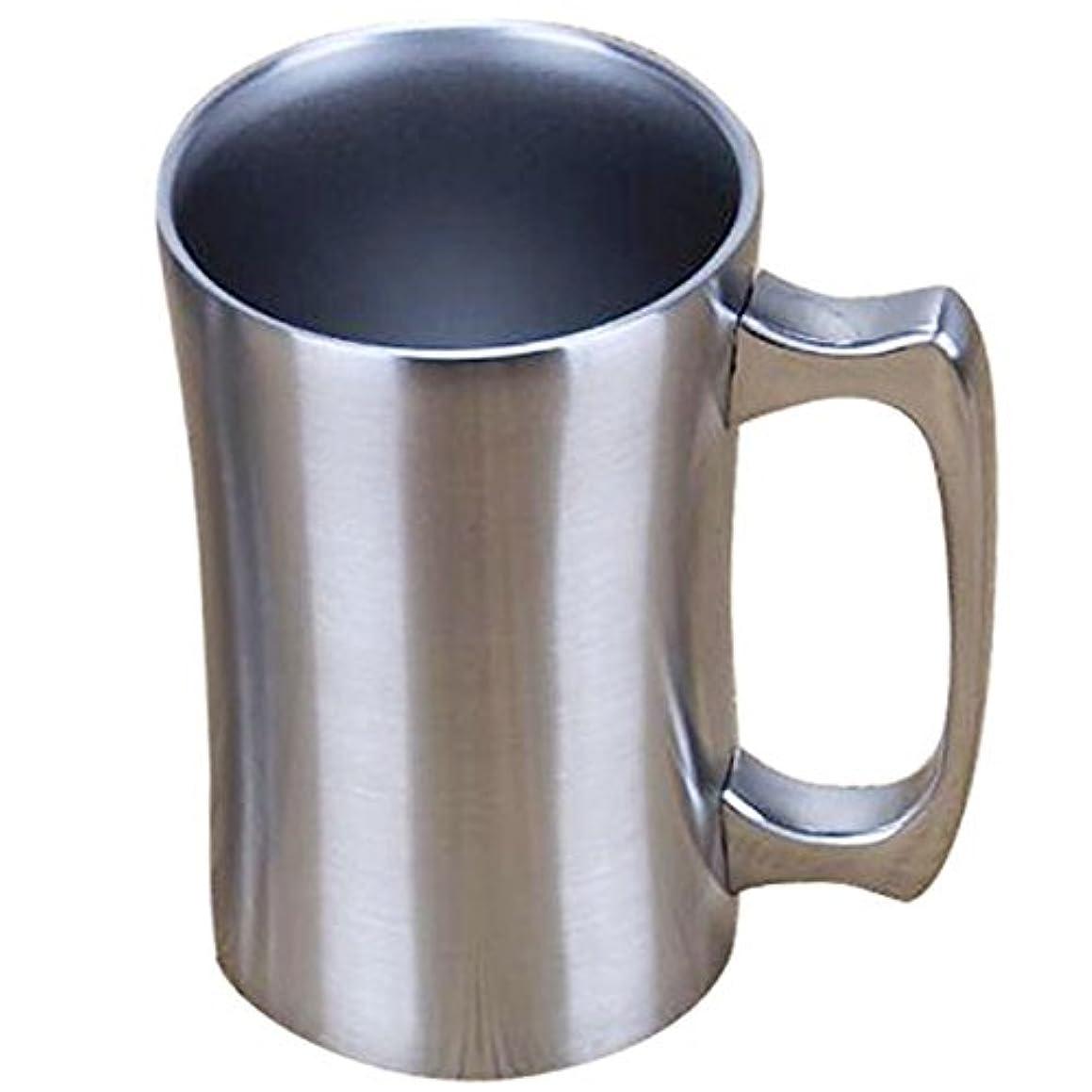 Insulated Cup, OrgMemory Stainless Steel Coffee Mug, 20 oz Coffee Mug, (560 ml), Double Wall Beer Stein, Tumbler with Handle, Insulated Beer Mug with Lid