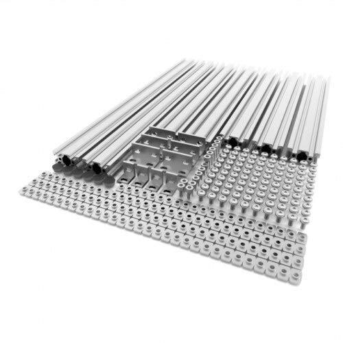 HUANRUOBAIHUO-HAT 1 Satz 3D-Drucker Extrusion Metallrahmen - Full Kit for AM8 Anet A8 Upgrade schnelles Schiff 3D-Drucker-Teile (Color : Silver)