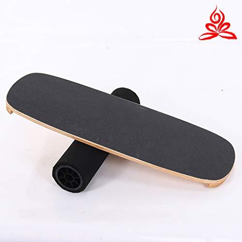 YYDE Balance Board - Holz Balance Board- für Surf, Snowboard, Functional Training - Balance, Stabilität, Ganzkörperkrafttraining, Balance Board Trainer