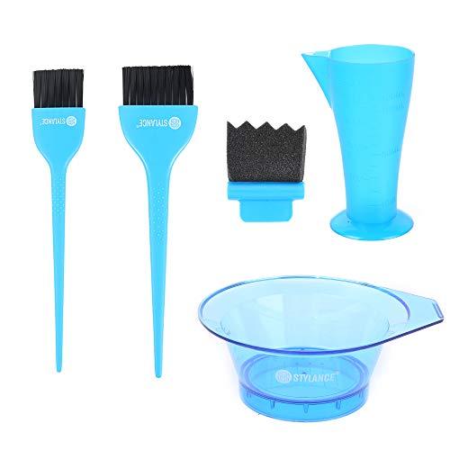Balayage Hair Color Tool Kit, 5pcs Hair Dye Brush and Bowl Set, Suitable...