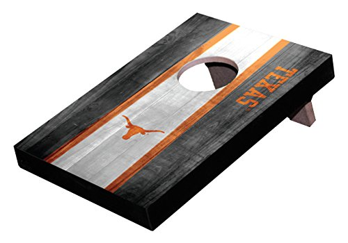 Wild Sports NCAA College Texas Longhorns Mini Cornhole Game