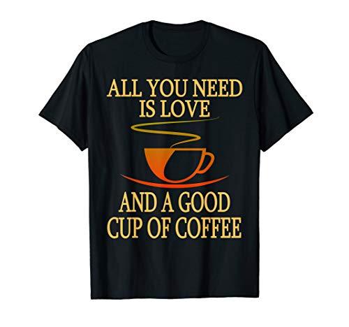 Kaffee Liebe Coffee Love - Das Kaffeetrinker & Barista T-Shirt
