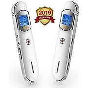Digitales Diktiergerät,8GB 1536 kbps USB Tonaufnahmegerät,HD Audiorekorder,Zeitgesteuerte Aufzeichnung,A-B Wiederhol,One-Touch-Aufnahme,Aufnahmegerät für Vorlesungen,Meetings,Interviews,Unterricht