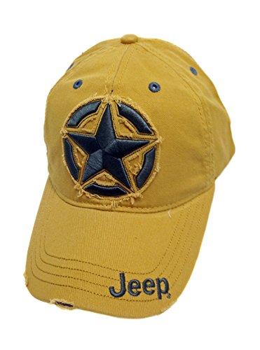 Jeep Distressed 3D Star Cap
