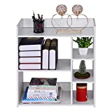 23.6×9.5×26.8in Simple Combination Bookcase Storage Organizer Bookshelf Home Multi-Layer Floor Rack,Ship from US Warehouse