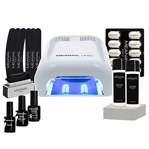Lampara UV y LED 36W - Set Completo Secador de Uñas Gel Man