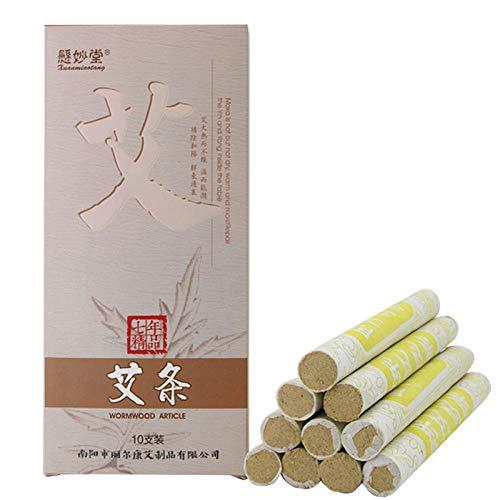 Chinesische Moxa Reine Wilde Beifuß Artemisia Zigarren Argyi - Moxa 7 Jahre Manuelle Gesundheit Moxastreifen Moxibustionssäule,Ein