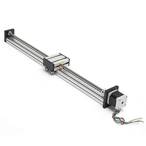 LHQ-HQ Stroke 500mm actuador Lineal CNC Movimiento Lineal Plomo husillo de una Etapa de Diapositivas con Motor de Pasos del Movimiento Lineal Productos Motor eléctrico