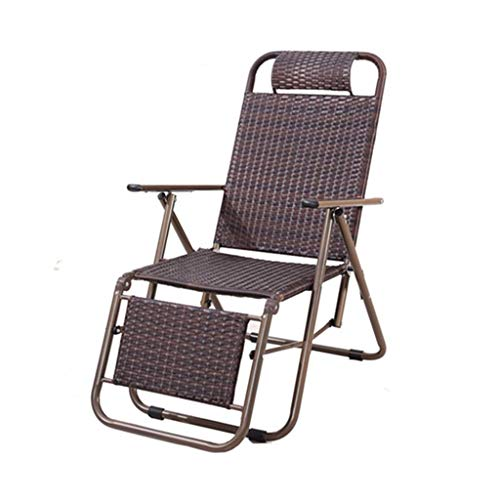NBVCX Mechanische Parts Faltbares Deck Chair Chair Chair Beach Sun Lounger Bedroom Living Room Office Nap Loir Patio Garden Outdoor Folding Chair B