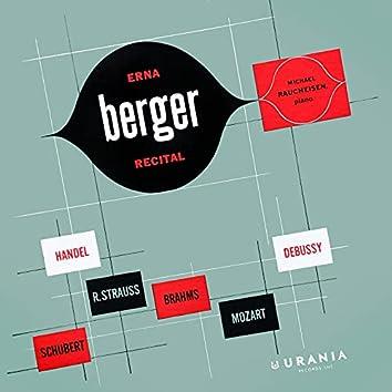 Erna Berger Recital