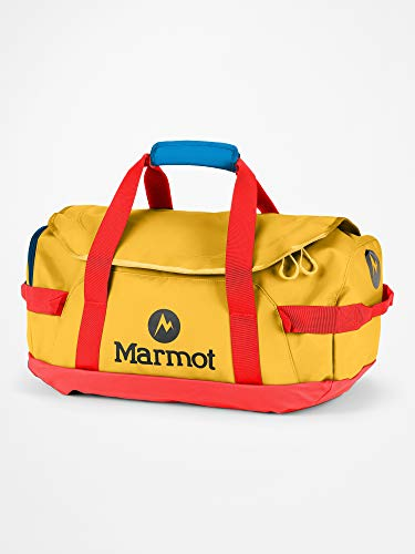 Marmot Long Hauler Duffel Small Borsa da Viaggio, Robusta Piccola Borsa Sportiva, Weekender, Unisex – Adulto, Solar/Victory Red, One