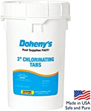 Doheny's 3 Inch Swimming Pool Chlorine Tablets 50 lbs.