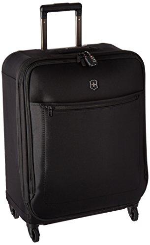 Victorinox Avolve 3.0 Softside Expandable Spinner Luggage, Black, Checked-Medium (26')