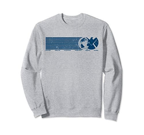 Marvel Agents of S.H.I.E.L.D. Eagle Globe Logo Sweatshirt