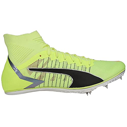 Puma Mens Evospeed Tokyo Brush Mid Track Spikes Running Sneakers Shoes - Green - Size 10.5 M