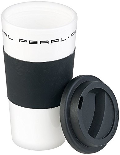 PEARL Isolierbecher: Coffee-to-go-Becher mit Deckel, 475 ml, doppelwandig, BPA-frei (Becher für Urlaub, Reise, Camping)