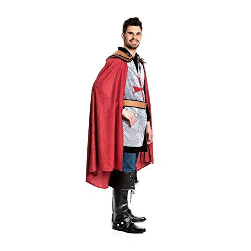 Kostümplanet® Ritter-Kostüm Herren Deluxe Tempel-Ritter Faschingskostüm Größe 56/58 - 2