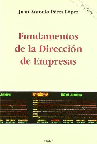 *Fundamentos de la dirección de empresas (Manuales Universitarios)