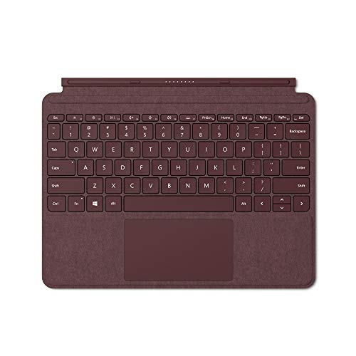 Microsoft Surface Go Signature Type Cover Tastiera per Surface Go, layout italiano (QWERTY), Rosso (Burgundy)