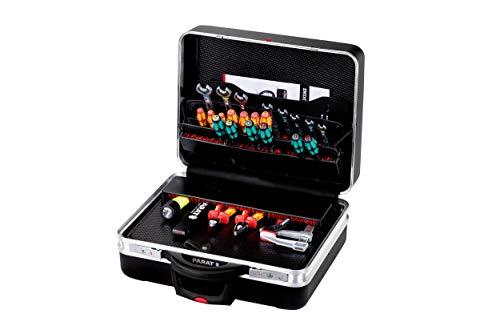 Parat CLASSIC KingSize Roll TSA LOCK Werkzeug-/Rollkoffer (Ordnungssystem CP-7 - 2 Schlüssel, 1 Längssteg 3 Querstegen, 49 x 46 x 25 cm, ohne Inhalt) 589.570.171