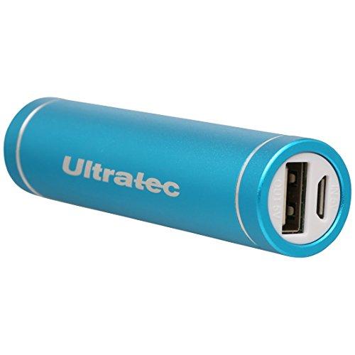 Ultratec draagbare oplader/externe accu voor smartphones en tablets, 3200 mAh, blauw