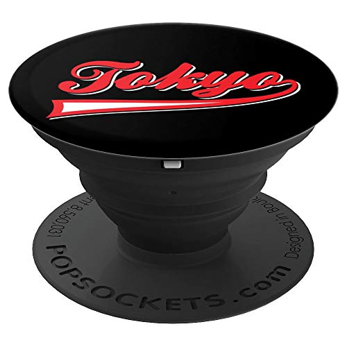Retro Tokyo PopSockets Grip and Stand for Phones and Tablets