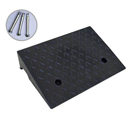 ChenB Small Tools huishoudveiligheidsplaten, antislip hellingen van zwart rubber, 4 maten driehoekige lampen kunnen aan de vloerlampen worden bevestigd