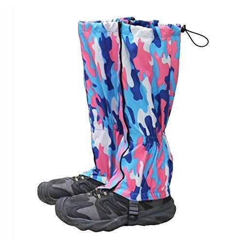 Bbai Escursionismo Ghette Impermeabili della Neve delle Guaine Leggero Leg Ghetti coperture Durevole Scarpe for Uomini e Donne all'aperto Sci Walking Arrampicata Caccia Sci 0420 (Size : A)