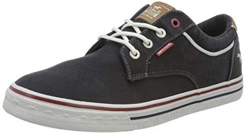 MUSTANG Herren 4147-303-9 Sneaker, Schwarz (Schwarz 9), 43 EU