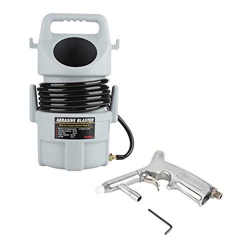 Portable Pneumatic Sand Blaster Kit Set, Sand Blaster Kit with Sandblasting...