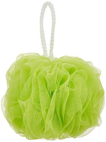オーエ ボディスポンジ ふつう グリーン 約縦22×横14×高さ14cm ホイッぷる ボール 泡立て ネット もこもこ 洗える