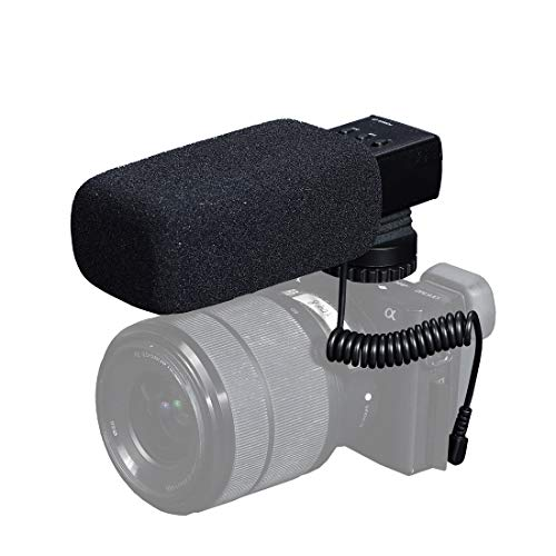 DSTE DM-112 with X-Y Stereo Pickup Technology Professional Stereo Sound Recording Mikrofon para Nikon/Canon Kamera/DV Camcorder