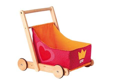 Sigikid 37767 - 1Plus Puppenwagen, pink