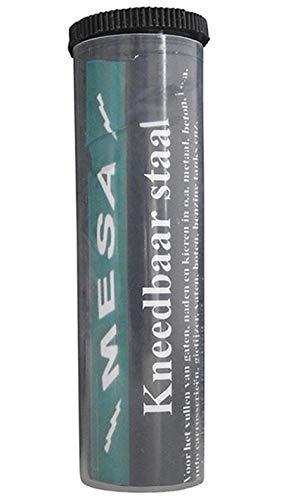 Kneedbaarstaal 56 gram voor reparatie aan metaal, het lijmen en opvullen van gaten in metaal, beton, hout etc.