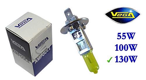 1 ampoule Vega® Jaune ancien H1 130W P14.5s Marque Française 12V