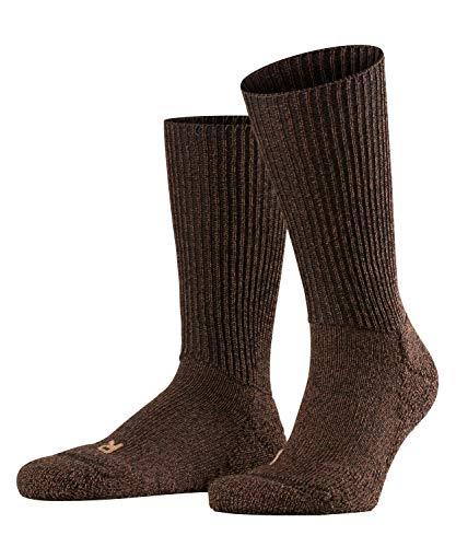 FALKE Unisex Socken Walkie Ergo U SO -16480, 1 Paar, Braun (Dark Brown 5450), 42-43