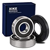 XiKe DC62-00156A, 6601-002637 and 6601-000148 Washer Tub Bearing & Seal Kit, Replacement for Samsung DC97-17004A, DC97-17004B, DC97-17004E, DC97-17040B and DC97-19636A.