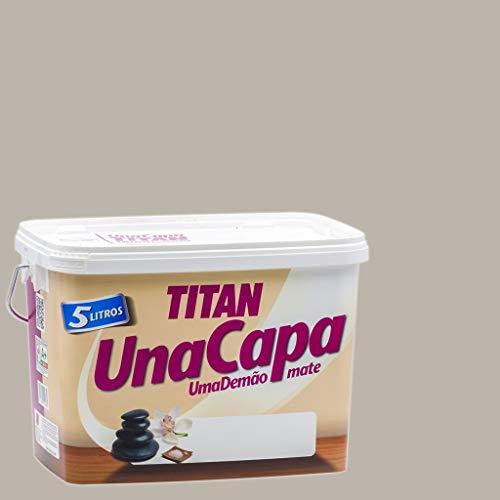 Titan 69630105 - Pintura plástica mate PIEDRA Titan UNA CAPA