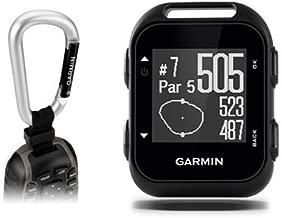 Garmin Approach G10 Golf GPS with Garmin Lanyard Carabiner & Belt Clip   Pocket-Sized Handheld GPS Bundle   010-01959-00