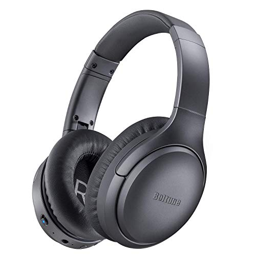 Active Noise Cancelling Headphones, Boltune[2020 Upgrade] Bluetooth 5.0...