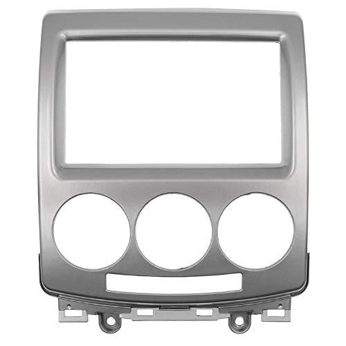 FUANLCJ CD-DVD-Stereo-Panel für f o rd I-Max 2007+ fit for Ma z da 5 Pralacy 2005+ 2 DIN Audio Radio Faszien-CD-Trimm-Kit-Rahmen-Rahmen-Facia-Platte