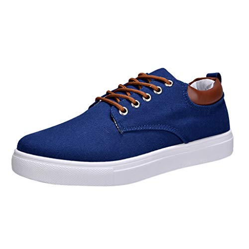 Zarupeng Canvas Sneakers Low Top vrijetijdsschoenen Body Schoenen Licht Comfortabele platte veterschoenen Outdoor Fitness Hardloopschoenen Sportschoenen