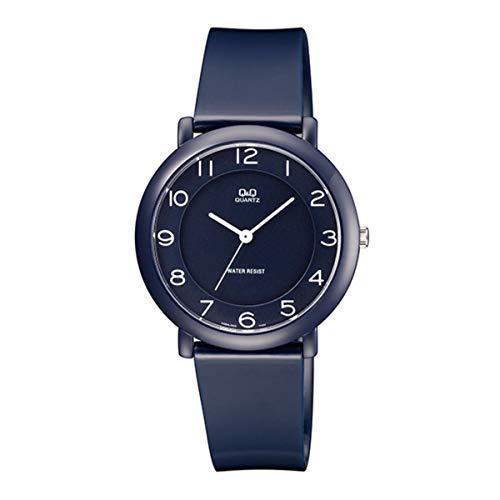 Relógio Q&Q, Unissex, Fashion, Analógico, Azul Escuro