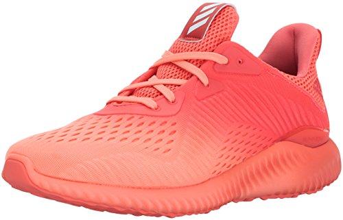 adidas Women's Alphabounce em w Running Shoe, Easy Coral/Sun Glow/Grey ONE, 5.5 Medium US