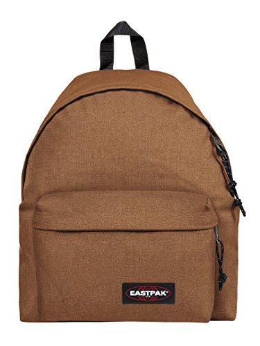 Eastpak Uomo Zaino Logo Pak R Crafty Beige Imbottito, Marrone, One Size