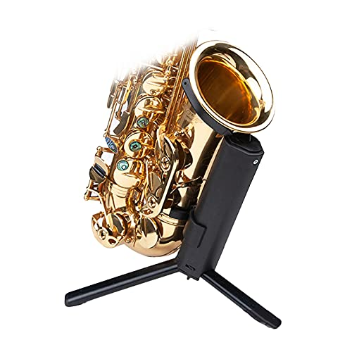 Saxophone Stand Rack, Universal Saxophone Portable Stand Foldable and Easy to Carry Alto Saxophone Stand(Bracket Only) (Size : Tenor display stand)